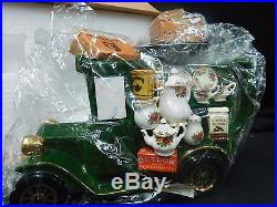Royal Albert Old Country Roses Delivery Truck Teapot Paul Cardew Design Mint NIB