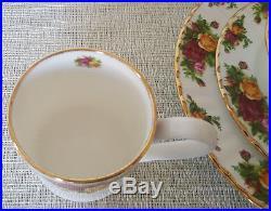 Royal Albert Old Country Roses Dinner, Salad Plates, Cereal Soup Bowl & Mug Set
