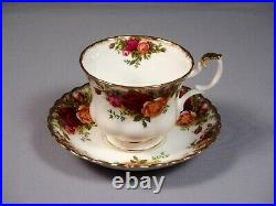 Royal Albert Old Country Roses Dinner Set for 12 Plate Salad Coffee Cups England