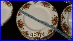 Royal Albert Old Country Roses Dinnerware 54-Piece Set Service for 11