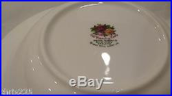 Royal Albert Old Country Roses England 1962 Round Soup Bowl Set of 4