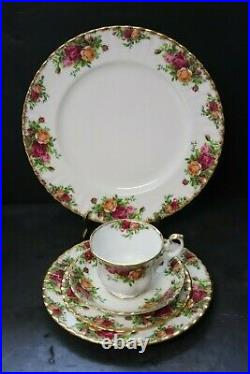 Royal Albert Old Country Roses Four 5 Piece Place Settings
