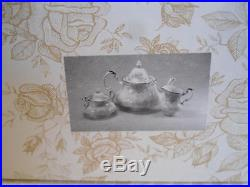 Royal Albert Old Country Roses Gold Tea Set Sugar Creamer & Tea Pot Teapot