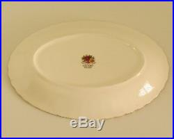 Royal Albert Old Country Roses Gravy Boat And Underplate English Made