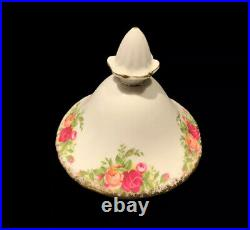 Royal Albert Old Country Roses Large 10 Inch Tall Tea Pot Mint Condition