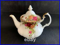Royal Albert Old Country Roses Large (6-8 cup) Teapot