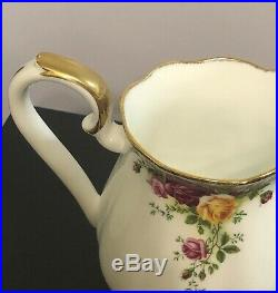 Royal Albert Old Country Roses Large Jug with Gilded Handle
