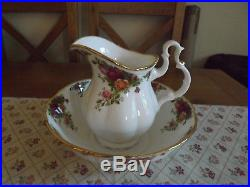 Royal Albert Old Country Roses Large bowl and pitcher jug