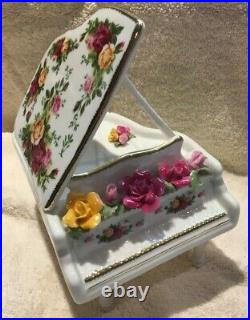 Royal Albert Old Country Roses Musical Piano