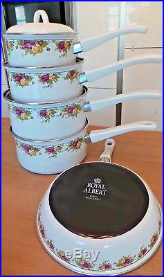 Royal Albert Old Country Roses Pan Set