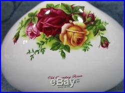 Royal Albert Old Country Roses Porcelain Telephone 20K Carat Gold Plated Trim