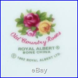 Royal Albert Old Country Roses Preserve / Mustard Pot & Spoon
