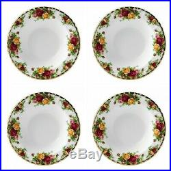 Royal Albert Old Country Roses Rim Soup Bowl Set of 8