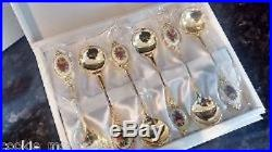 Royal Albert Old Country Roses Round Spoons RARE