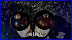 Royal Albert Old Country Roses Salt / Pepper Grinders RARE