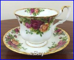 Royal Albert Old Country Roses Service For 6, 5 Piece Place Settings, 30 Pieces