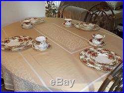 Royal Albert Old Country Roses Service for 8