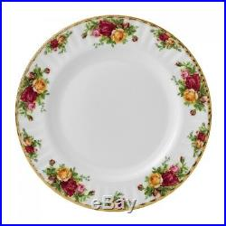 Royal Albert Old Country Roses Set of 6 x 10.5 Dinner Plates Made in UK
