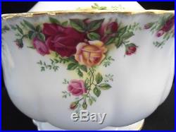 Royal Albert Old Country Roses Soup Tureen Made In England