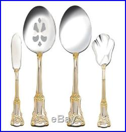 Royal Albert Old Country Roses Stainless 65 Piece Service for 12 without Box