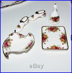 Royal Albert Old Country Roses, Tea And Coffee Service, Extras