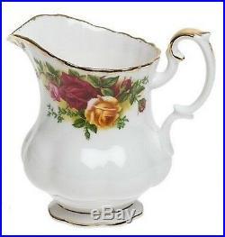 Royal Albert Old Country Roses Tea Completer Set Teapot Creamer Sugar 3 PC NEW