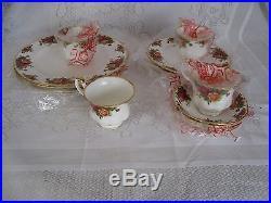 Royal Albert Old Country Roses Tea Set 16 items