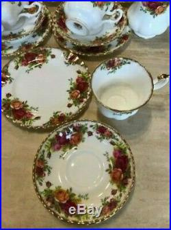 Royal Albert Old Country Roses Tea Set -Made In England