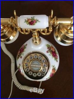 Royal Albert Old Country Roses Telephone