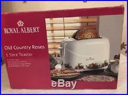 Royal Albert Old Country Roses Toaster EXTREMELY RARE
