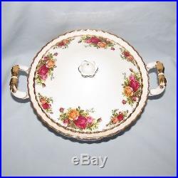 Royal Albert Old Country Roses Tureen Vegetable Dish English Made