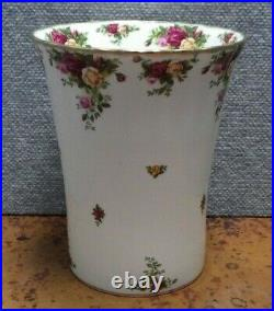 Royal Albert Old Country Roses Waste Basket