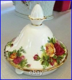 Royal Albert Old Country Teapot Made England Please read