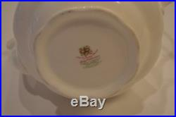 Royal Albert Ruby Celebration Old Country Roses Bone China 3 cup Teapot RARE