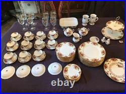 Royal Alberts Bone China Old Country Rose Complete set NEW