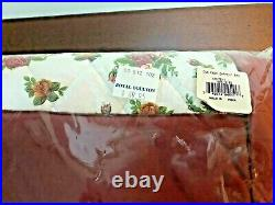 Royal Doulton Albert Old Country Roses Fabric Garment Bag New In Package