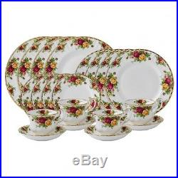 Royal Doulton Royal Albert Old Country Roses 20 Piece Set for 4 $640 NWT