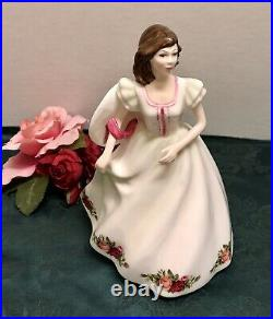 Royal Doulton Royal Albert Old Country Roses Pretty Ladies Figurine Annabelle