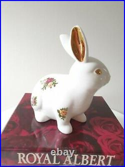 Royal Doulton / Royal Albert Old Country Roses Rabbit Figurine