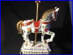 Royal albert old country roses caroulsel Horse