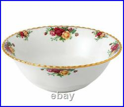 SET OF 2 Royal Albert OLD COUNTRY ROSES ROUND 10 Serving Bowl New IN BOX
