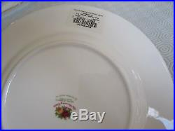 Set @ 8 New Royal Albert Old Country Roses 8 Salad Plate Bone China