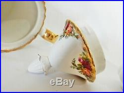 Superb Vintage Original 1962 Royal Albert Old Country Roses Coffee Pot Tea Set