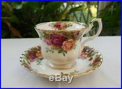 Vintage 1st Quality Royal Albert Old Country Roses Tea Set Large 2.5pt Teapot