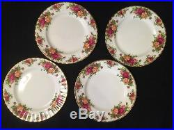 Vintage Royal Albert Bone China Old Country Roses 24 Pieces