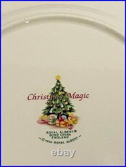 Vintage Royal Albert Christmas Magic Old Country Roses 3 Piece Set Rare