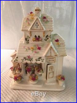 Vintage Royal Albert OLD COUNTRY ROSES Flower Shop Votive Candle Light EC No Box