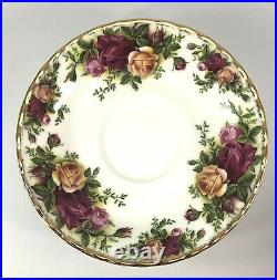 Vtg Royal Albert Old Country Roses Made in England 1962 Partial Set 13 Pcs